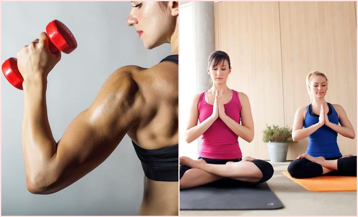 Trening snage i joga su dobar spoj